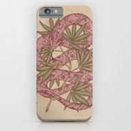 iPhone & iPod Case featuring The Snake by Marica Zottino