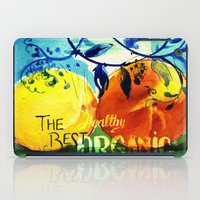 Organic Fruits iPad Case