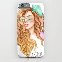 iPhone Cases featuring Free my mind, ARTPOP by Helen Green