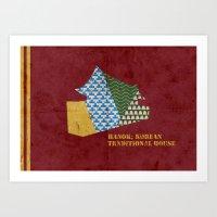HANOK(한옥) Art Print