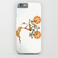 iPhone & iPod Case featuring Orange by José Luis Guerrero