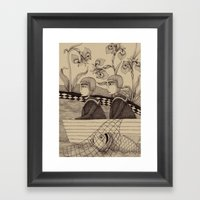 The Golden Fish (2) Framed Art Print