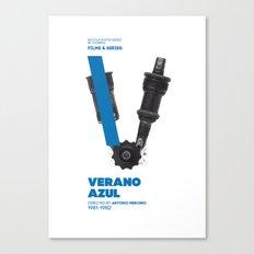 Bike to Life - Verano Azul Canvas Print