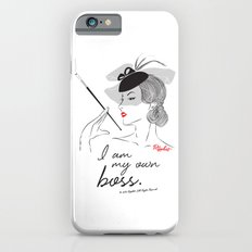 I am My Own Boss iPhone 6 Slim Case