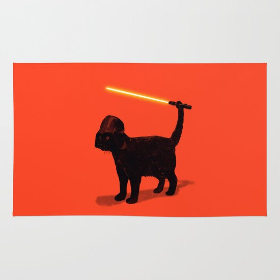 Cat Vader Area & Throw Rug