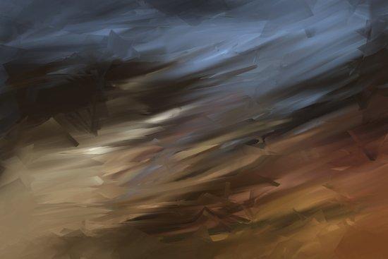 Into the storm - Analog Zine Art Print
