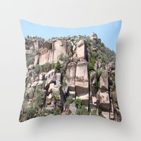 Unusual Rock Formations … Throw Pillow