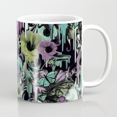 Mrs. Sandman, melting rose skull pattern Mug