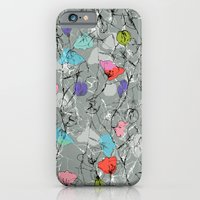 iPhone & iPod Case featuring Crawling leaves by Laura Sturdy
