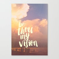 MY VISION Canvas Print