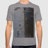 winter is gone? Mens Fitted Tee Athletic Grey SMALL