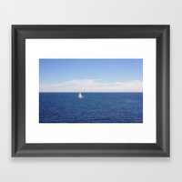 Velero Framed Art Print