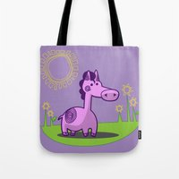 L. Horse Tote Bag