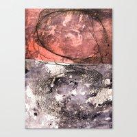 lines & texture 4 Canvas Print