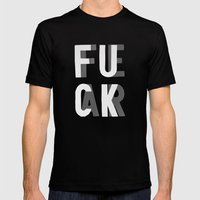 Fuck Fear Mens Fitted Tee Black SMALL
