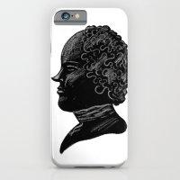 Silhouette of a Gentleman iPhone 6 Slim Case