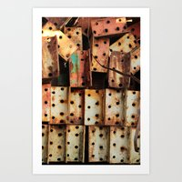 Urban Metal Art Print