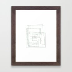 #453 The rec-tangle – Geometry Daily Framed Art Print