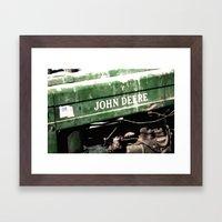 John Deere Framed Art Print