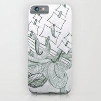 iPhone & iPod Case featuring Sea Creature by rachellam