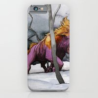 iPhone & iPod Case featuring BEAST AND BEAUTIFUL by Jose Luis Ocana