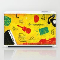 Music and Noise iPad Case