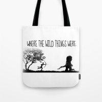Where The Wild Things We… Tote Bag
