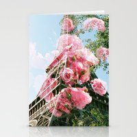 Paris in the Springtime  Stationery Cards