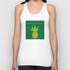 No264 My PINEAPPLE EXPRESS minimal movie poster Unisex Tank Top
