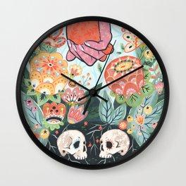 Wall Clock - Till Death Do Us Part - Angela Rizza