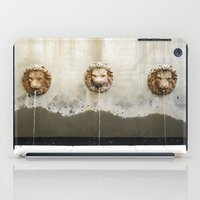 Three Lions Fountain iPad Case