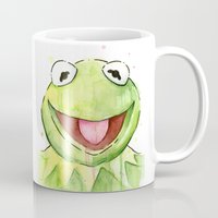 Kermit Portrait Mug