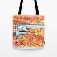 Quick draw Tote Bag