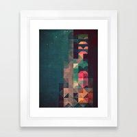 Byldyynngg Framed Art Print