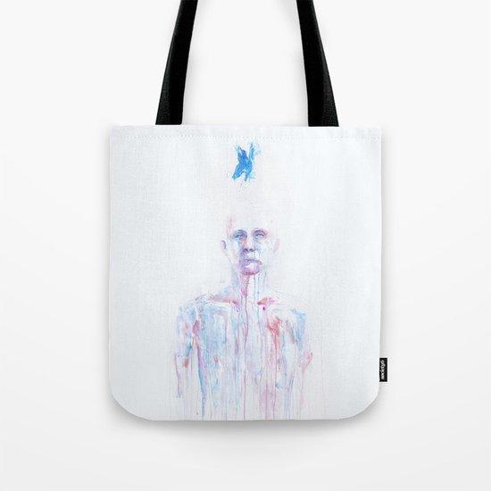 Last Blue Breath Tote Bag