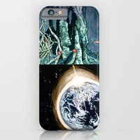 iPhone & iPod Case featuring Life on the event horizon 1 by Salgood Sam