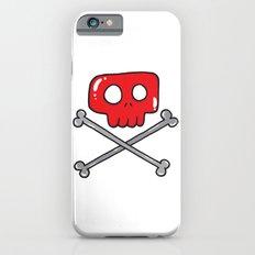 Cute little pirate sign iPhone 6 Slim Case