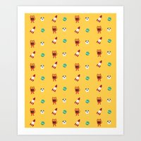 ChuChu Rocketto Art Print