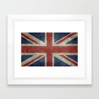 Union Jack  (3:5 Version) Framed Art Print