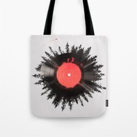 The vinyl of my life Tote Bag