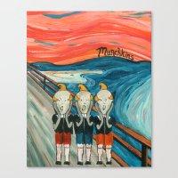 Munchkins Canvas Print