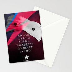 Blackstar (from Mars) Stationery Cards