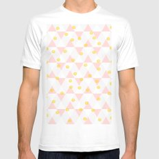Throw kindness around like confetti SMALL White Mens Fitted Tee