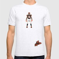 Who Dey? - A.J. Green Mens Fitted Tee Ash Grey SMALL