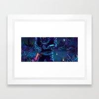 Execute Framed Art Print