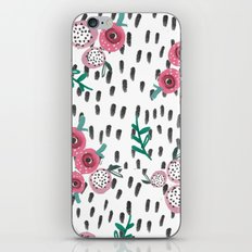 Rose. Illustration, pattern, print, floral design, art, painting, flowers, flower, iPhone & iPod Skin