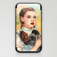 iPhone & iPod Skin featuring I Don't Think We're In K… by Helen Green