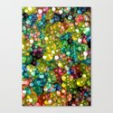 Sparkling Rainbow Bubbles Canvas Print