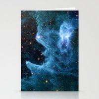Ghost Nebula Stationery Cards
