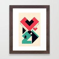 Love 2 Play Framed Art Print